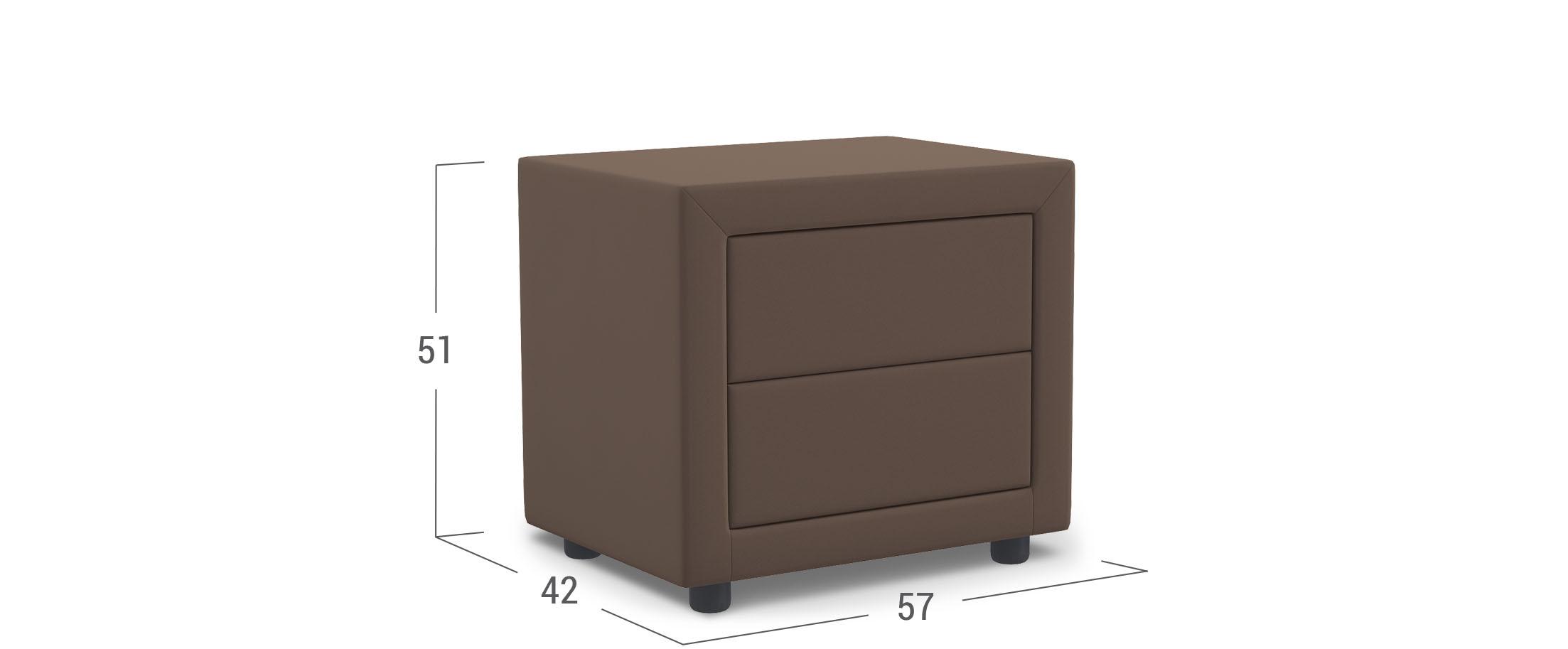 Тумба прикроватная Грация-2 Модель 1211