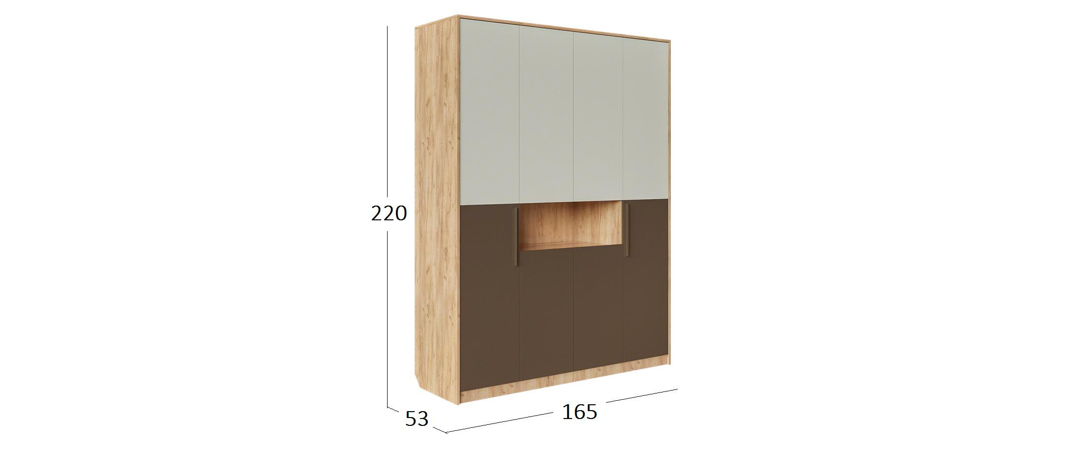 Шкаф с нишей Джерси Модель 521